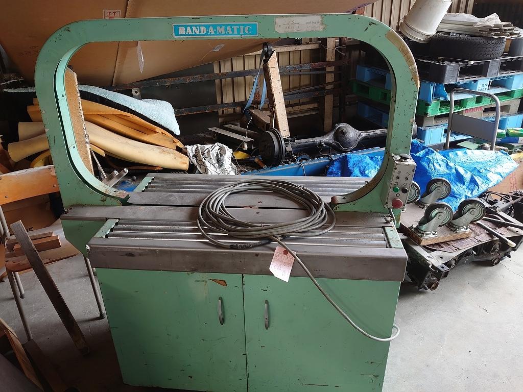 梱包機 バンダマチック U61 ナイガイ株式会社 200V 60HZ 500W 三相 自動梱包機 バンド 引き取り限定 ジャンク 3N