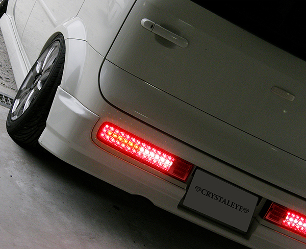 Z11系 CUBE キューブ フルLEDテールランプ V2 流れるシーケンシャルウインカー仕様 【レッドクリアー】送料無料_画像9