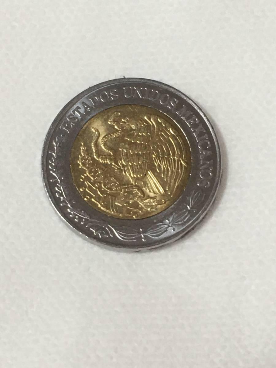 メキシコ バイメタル 1$ 1ペソ 2016 コイン 硬貨 海外 世界 コレクション ヤフオクで応援