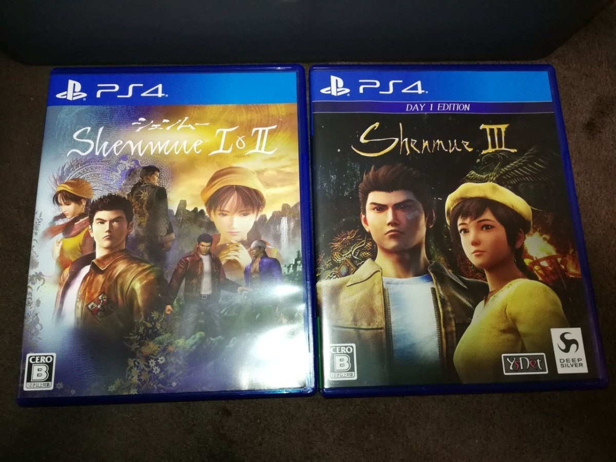 PS4 シェンムー1&2 シェンムー3 セット