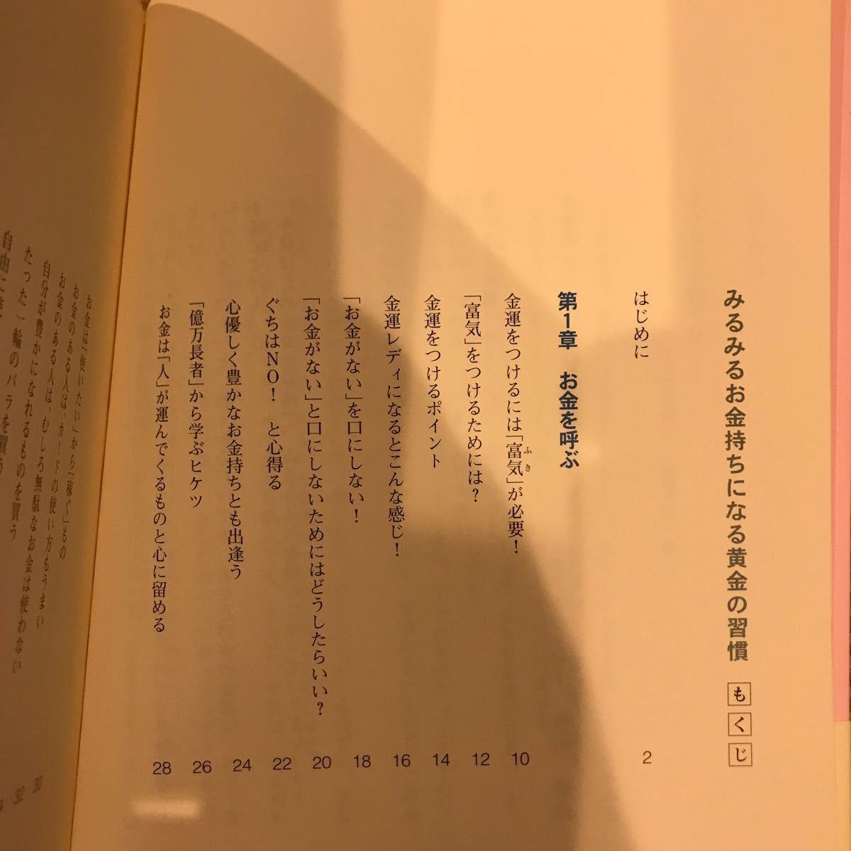 みるみるお金持ちになる黄金の習慣/PHP研究所/佳川奈未