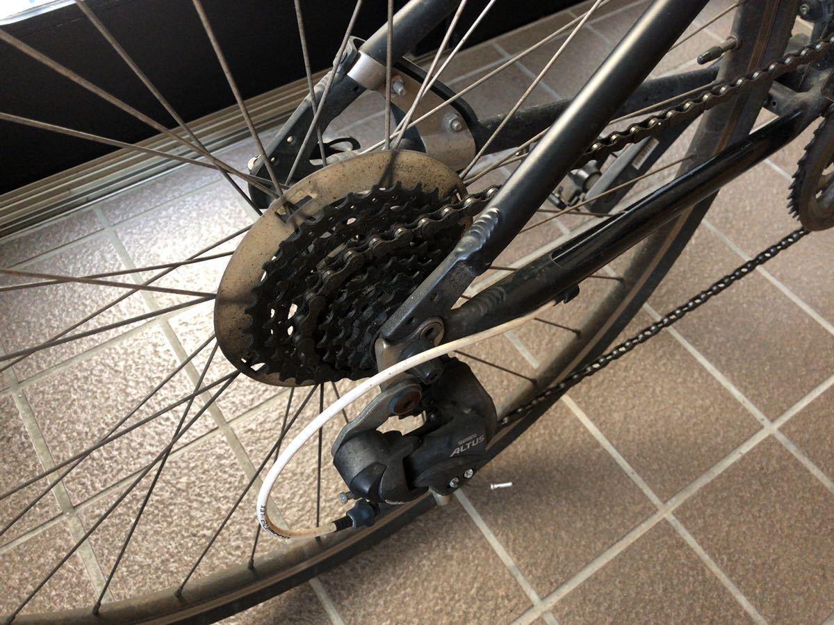 ルイガノ シャッセ 370mm 24段 LOIS GARNEAU CHASSE クロスバイク スポーツ ロードバイク 自転車 アルミ 軽量 サイクリング_画像3