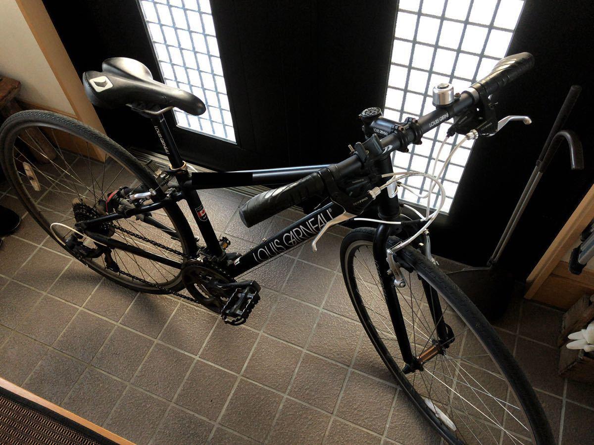 ルイガノ シャッセ 370mm 24段 LOIS GARNEAU CHASSE クロスバイク スポーツ ロードバイク 自転車 アルミ 軽量 サイクリング_画像1