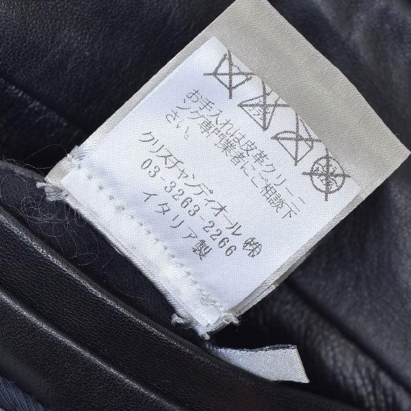 ディオールオム レザー ダウン ジャケット Dior homme|20c0206*B_画像6
