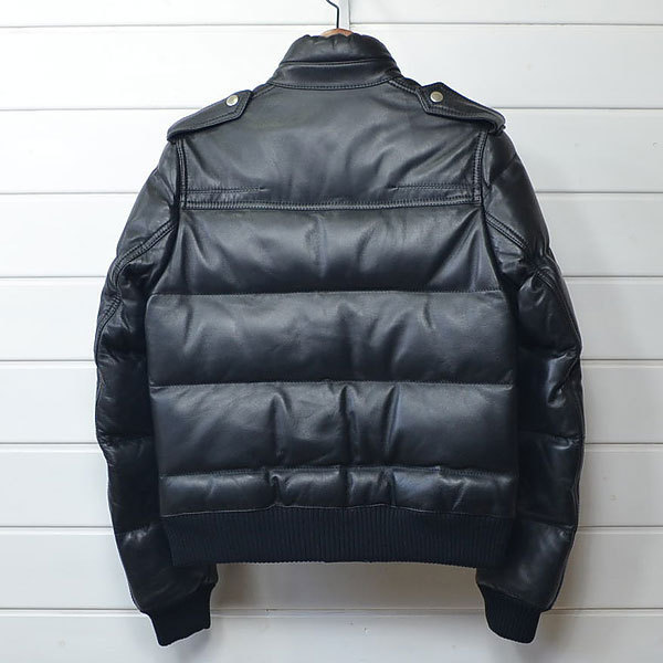 ディオールオム レザー ダウン ジャケット Dior homme|20c0206*B_画像2