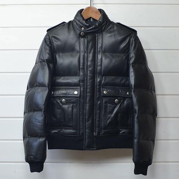 ディオールオム レザー ダウン ジャケット Dior homme|20c0206*B_画像1