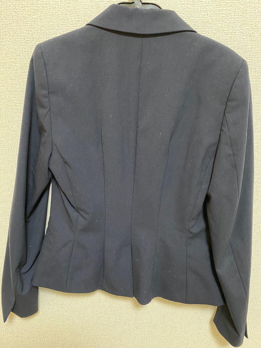 テーラードジャケット スーツ ネイビー