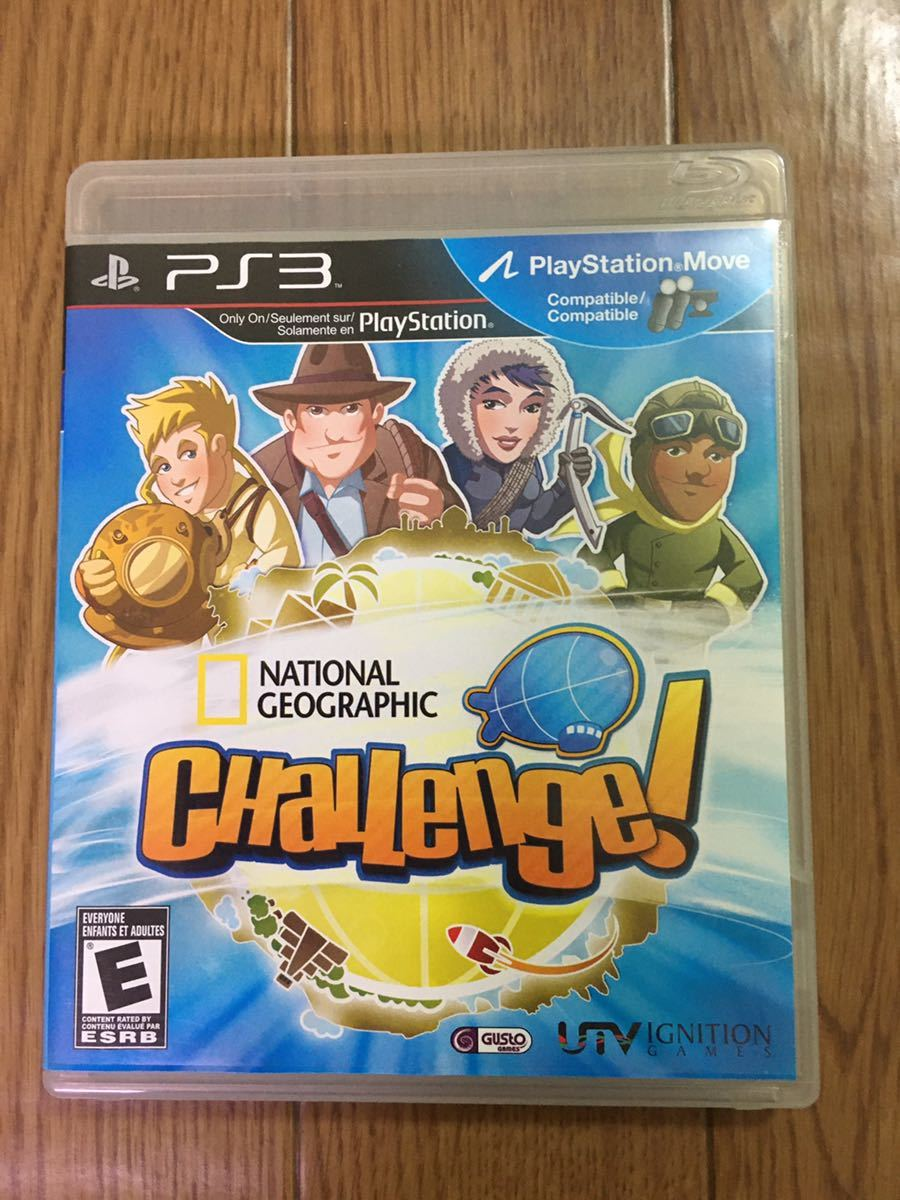 ps3 ソフト  National Geographic Challenge
