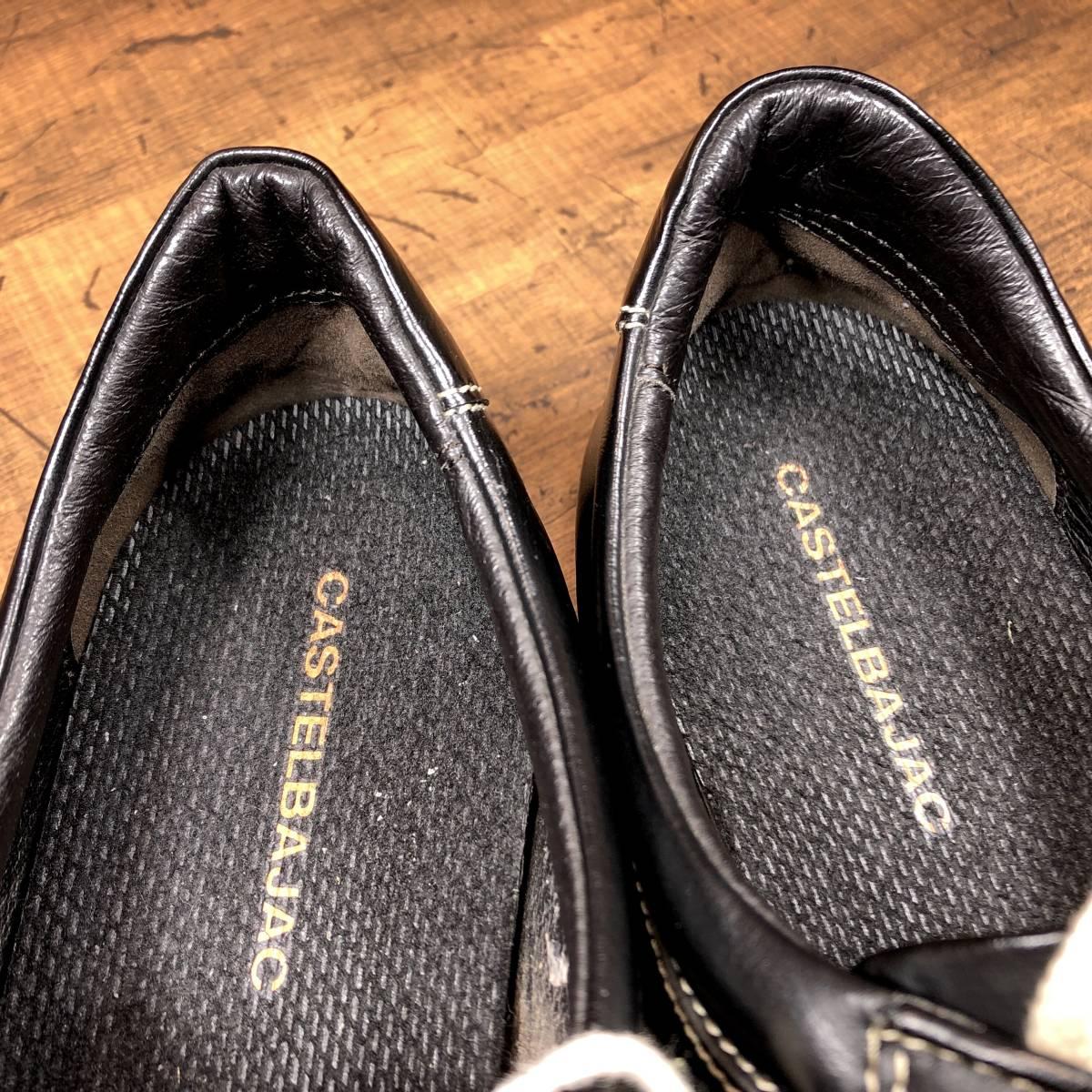 ■CASTELBAJAC■ 26cm 黒 ブラック カステルバジャック スニーカー メンズ 靴 くつ 中古 ヤフネコ 即決_画像8