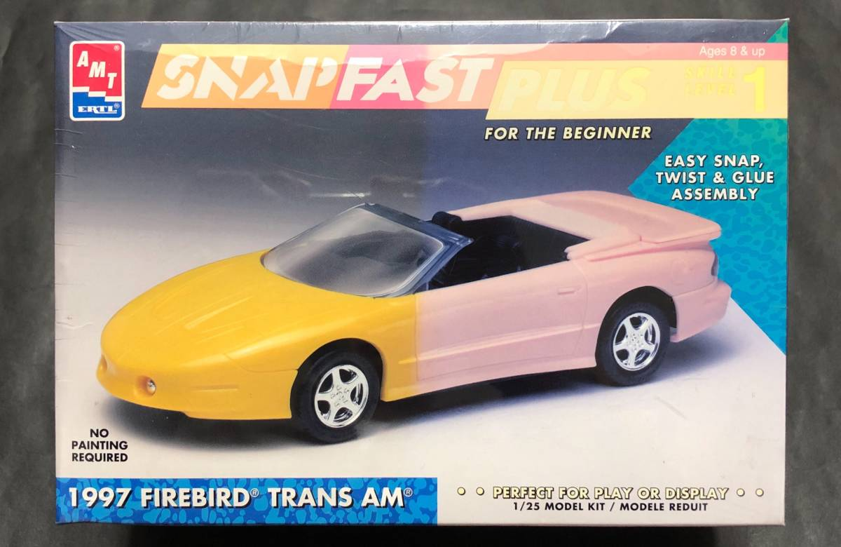 即決@中古絶版模型堂 amt 1/25 1997ファイヤーバードトランザム FIREBIRD TRANS AM TRANSAM ポンティアック ファイアーバード トランザム_画像1