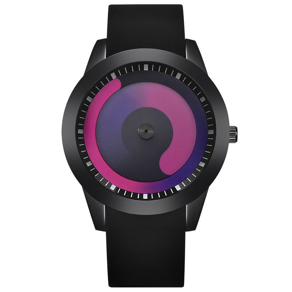 ファッション男性のミニマリストウォッチメッシュバンドステンレス鋼アナログクォーツ腕時計高級シルバー腕時計男性レロジオ Masculino_画像1