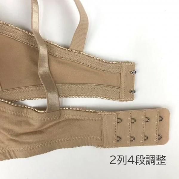 ブラジャー&ショーツ マタニティ E80/L~LL ストラップオープン 3/4カップ ワイヤー入り授乳ブラ 綿94% 産前産後に使える_画像7