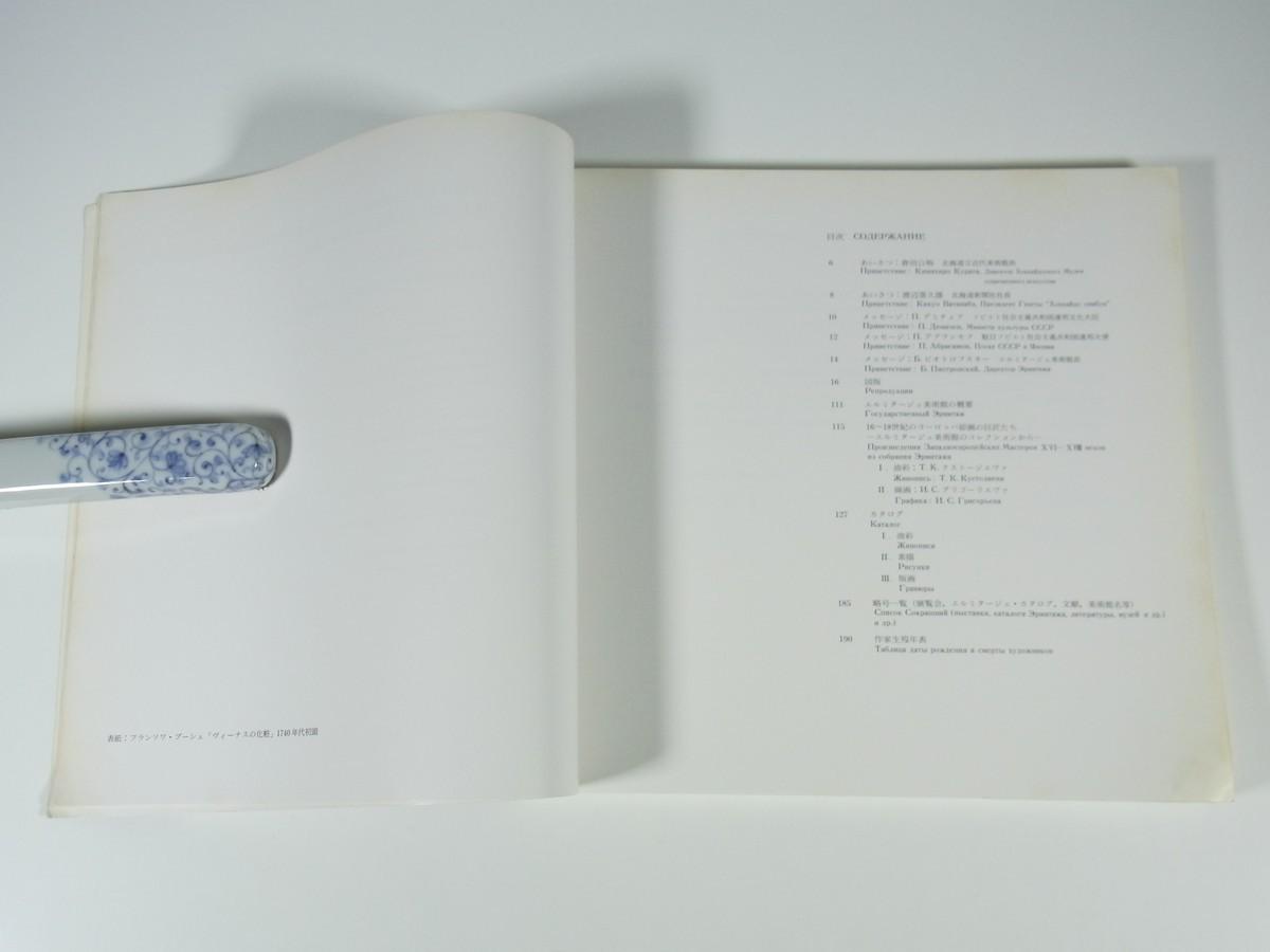 エルミタージュ美術館展 ヨーロッパ絵画 ルネサンスからロココまで 北海道立近代美術館 1985 大型本 展覧会 図版 図録 作品集 芸術 洋画_画像5