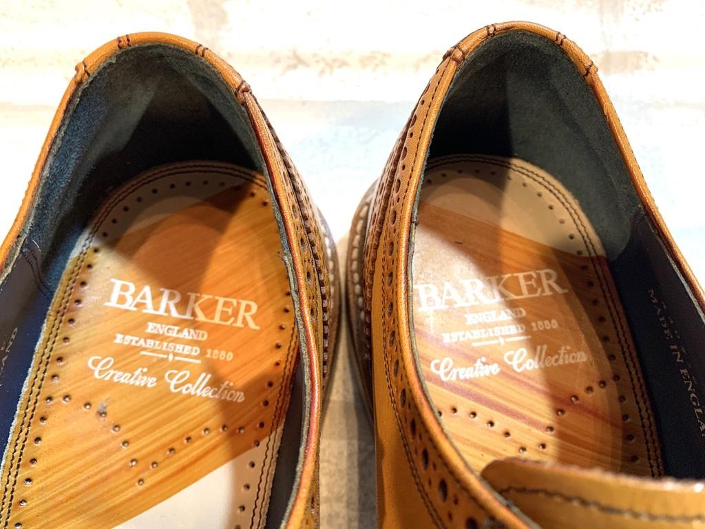 【未使用品】BARKER BaileyⅡ バーカー◆25cm UK6◆ウイングチップ フルブローグ◆茶◆革靴 ビジネスシューズ レザー◆イギリス製 メンズ_画像8