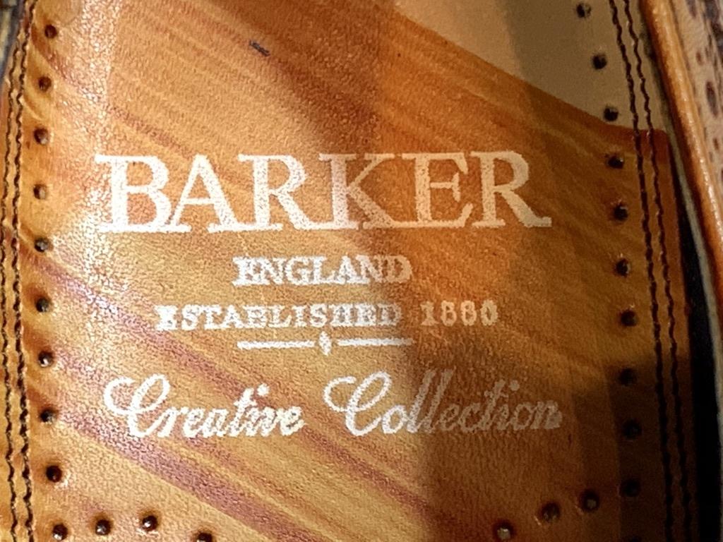 【未使用品】BARKER BaileyⅡ バーカー◆25cm UK6◆ウイングチップ フルブローグ◆茶◆革靴 ビジネスシューズ レザー◆イギリス製 メンズ_画像10