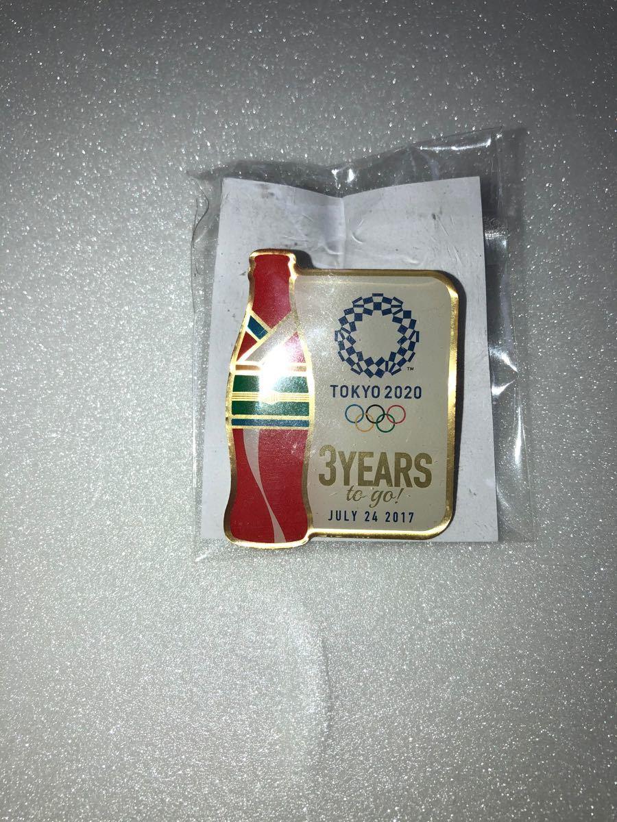 非売品 コカコーラ 2020年 東京オリンピック ピンバッチ ピンバッジ