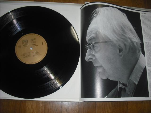 独EMI1555273 ヴァント指揮/シューベルト交響曲全集+ロザムンデ 金盤 5LPbox digital録音盤_画像4