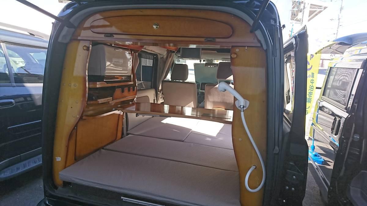 「H28年式 軽キャンピングカー 給電くん 車検令和2年9月まで ワンオーナー車 内外装状態良いです!」の画像1