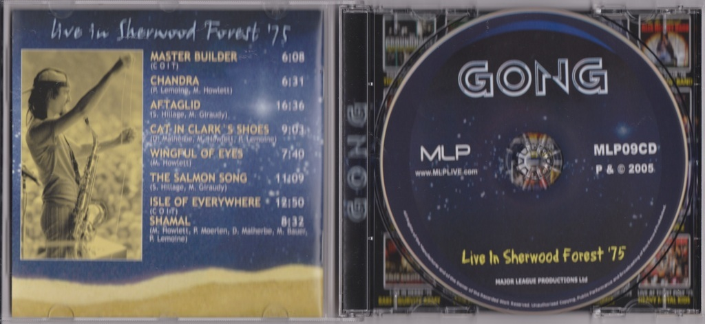 Gong - Live In Sherwood Forest '75 CD