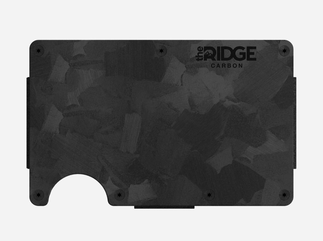 新品 未使用 正規品 スキミング防止 マネークリップ マネーバンド 日本未発売 ザ リッジ THE RIDGE