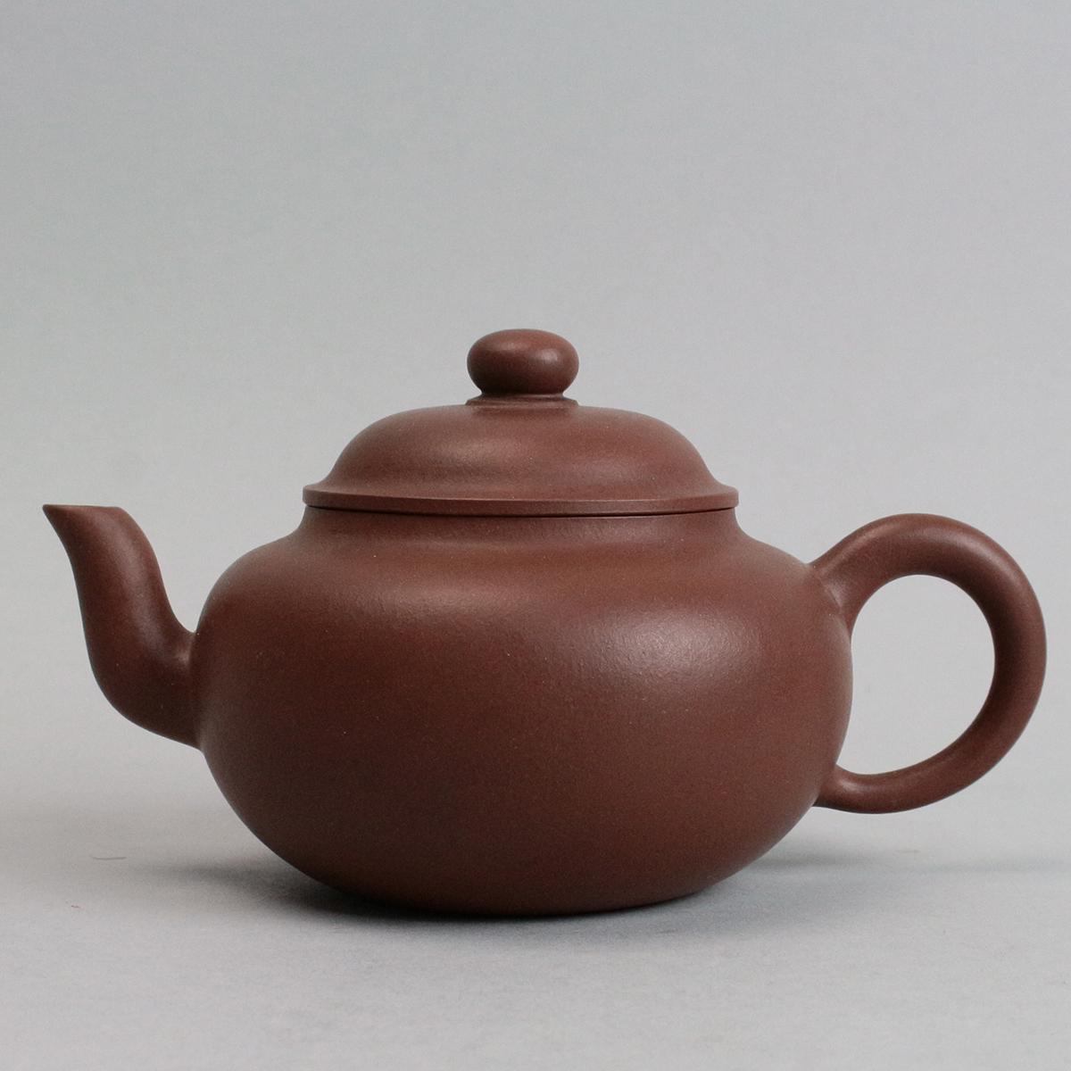 3077 中国 荊渓恵孟臣製 朱泥 急須 茶壺 唐物 煎茶道具