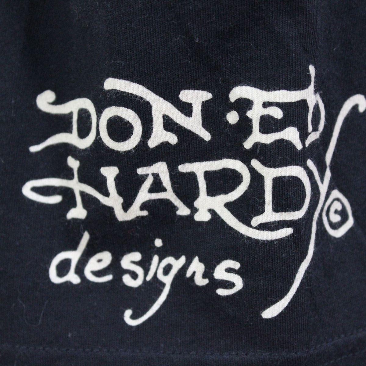 エドハーディー ED HARDY メンズ半袖Tシャツ ブラック Mサイズ 新品 黒 Vネック M02BMV554_画像4