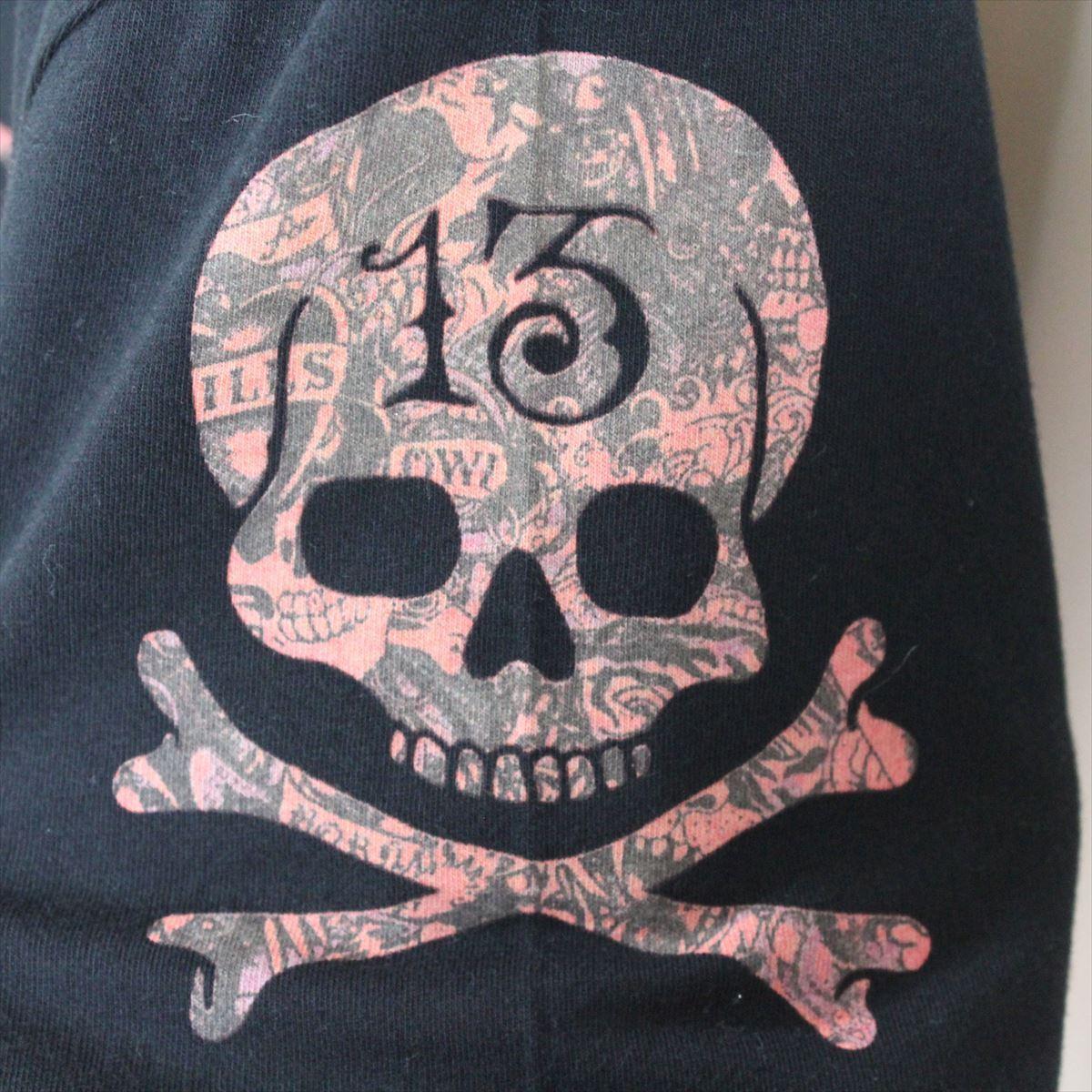 エドハーディー ED HARDY メンズ半袖Tシャツ ブラック Sサイズ 新品 Vネック 黒_画像3