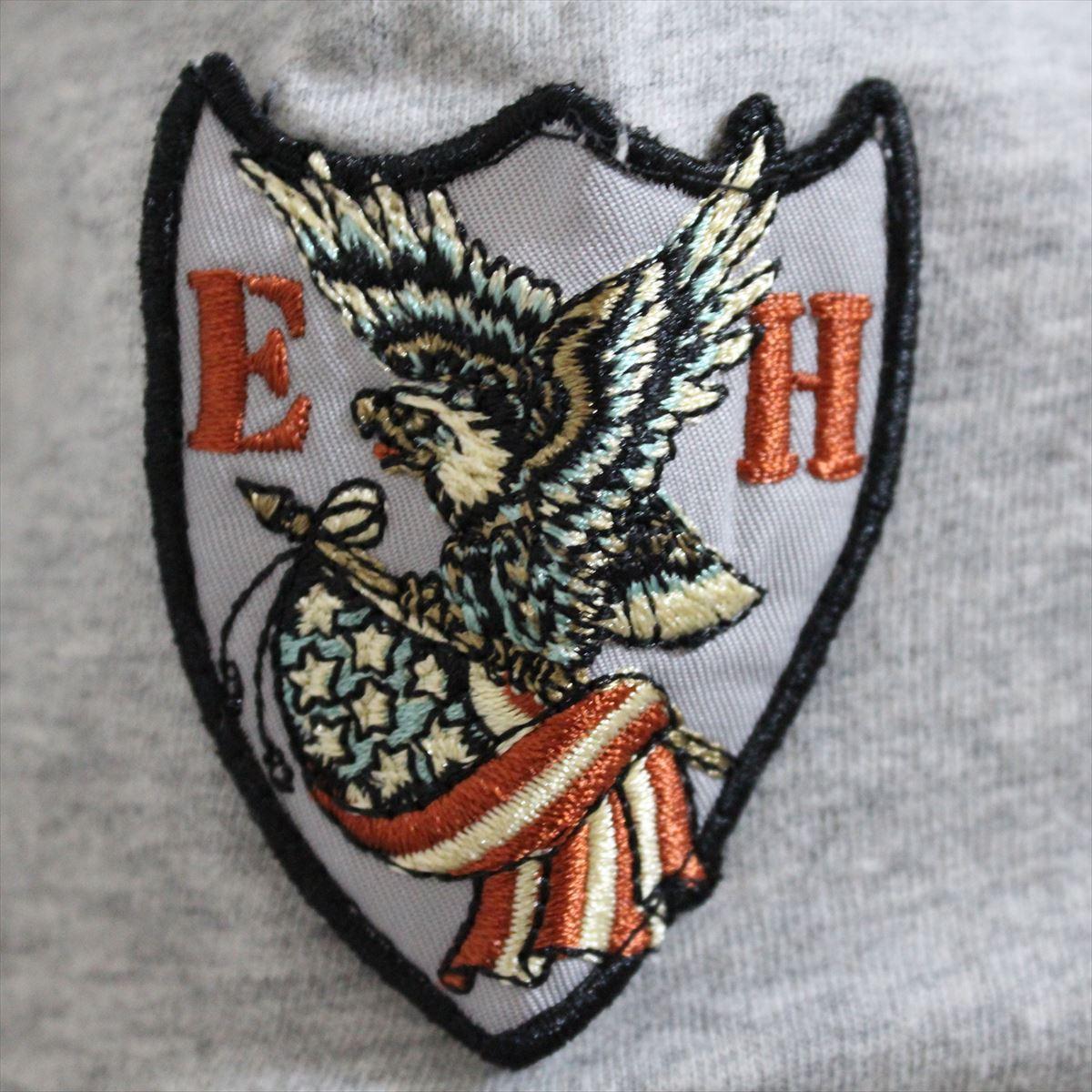 エドハーディー ED HARDY メンズ半袖Tシャツ グレー Sサイズ M02ABPP052 新品_画像3