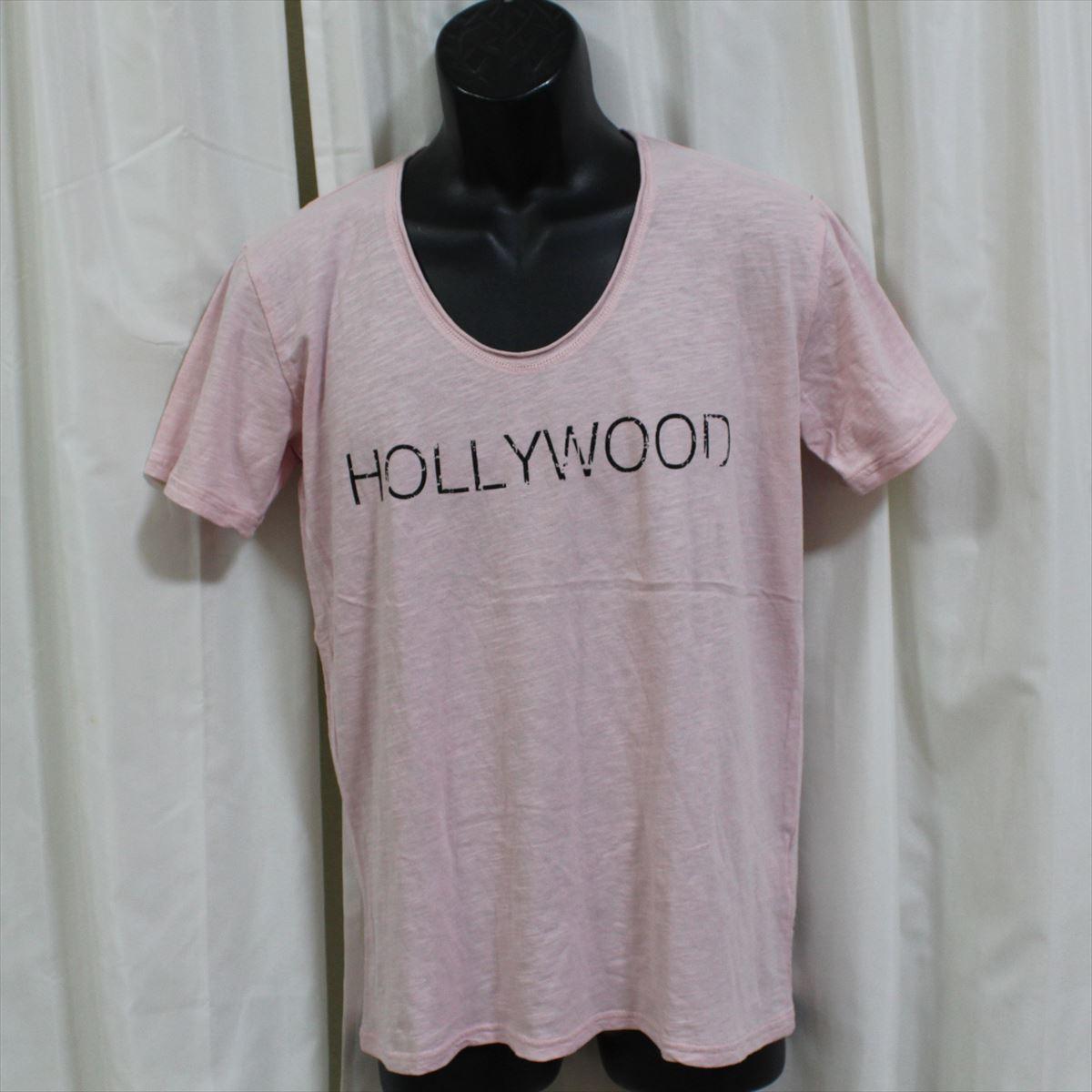 エドハーディー ED HARDY メンズ半袖Tシャツ ピンク Mサイズ NO65 新品 USA_画像1