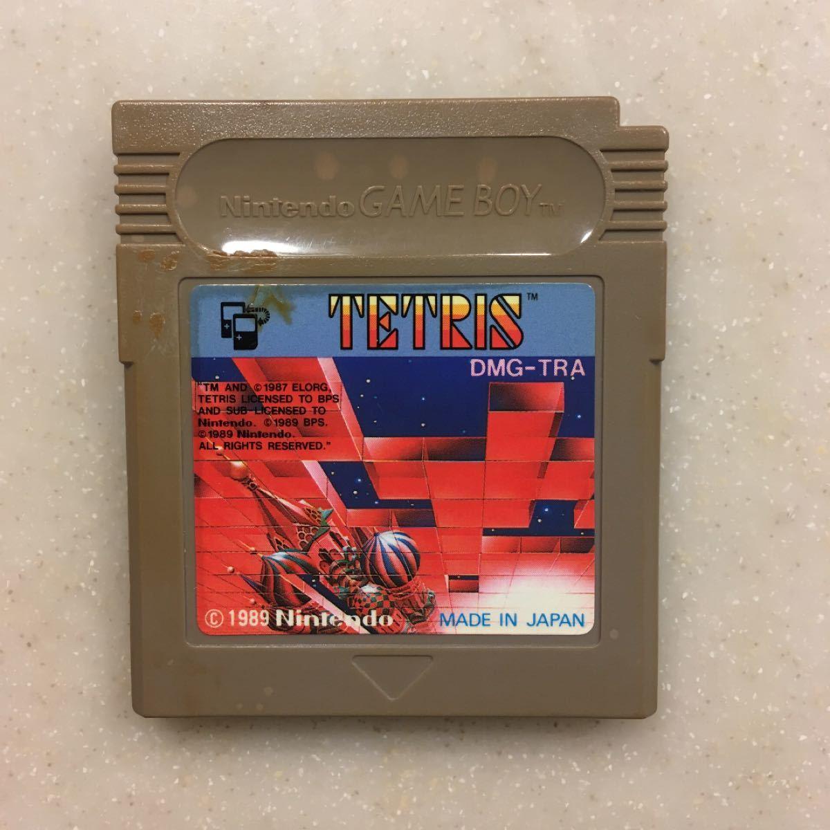 テトリス Tetris ゲームボーイ ソフト ゲームボーイ