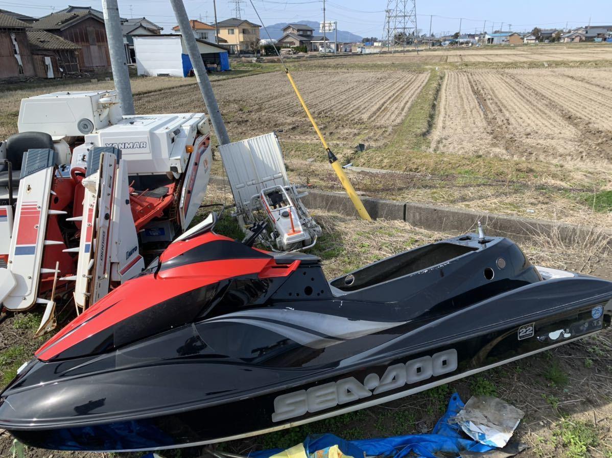 ジェットスキー SEADOO 外装のみ 新潟県燕市にあり 引き取り_画像1