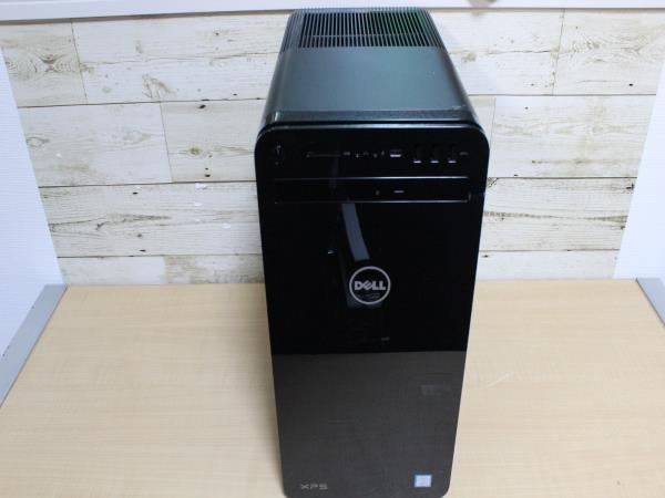 S5107 DELL デル デスクトップパソコン XPS D24M 002 Core i7-8700 3.20GHz 3.19GHz 16GB