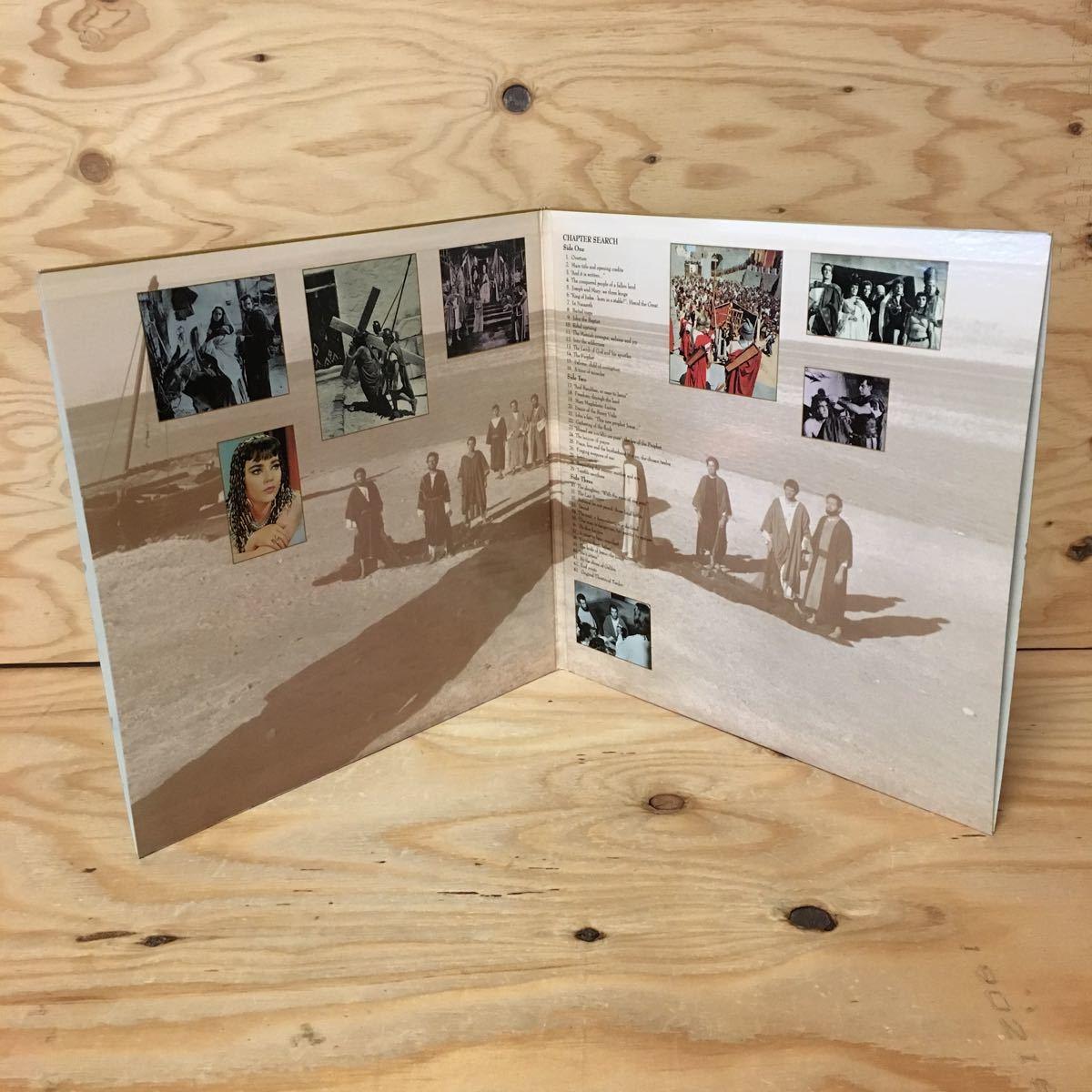 ◎Y3FJJD-200306 レア[KING OF KINGS 輸入盤]LD レーザーディスク JEFFREY HUNTER NICHOLAS RAY_画像4