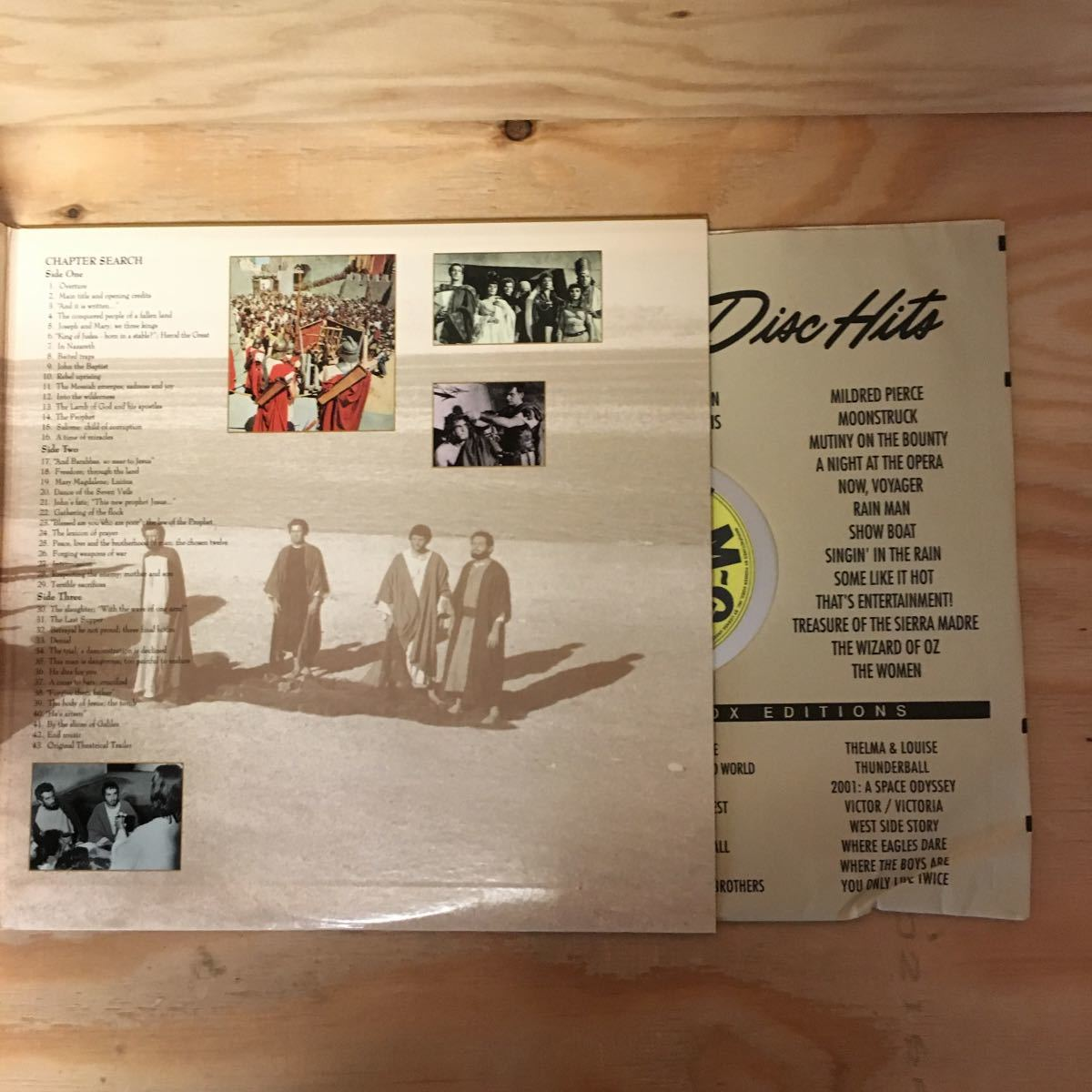 ◎Y3FJJD-200306 レア[KING OF KINGS 輸入盤]LD レーザーディスク JEFFREY HUNTER NICHOLAS RAY_画像6