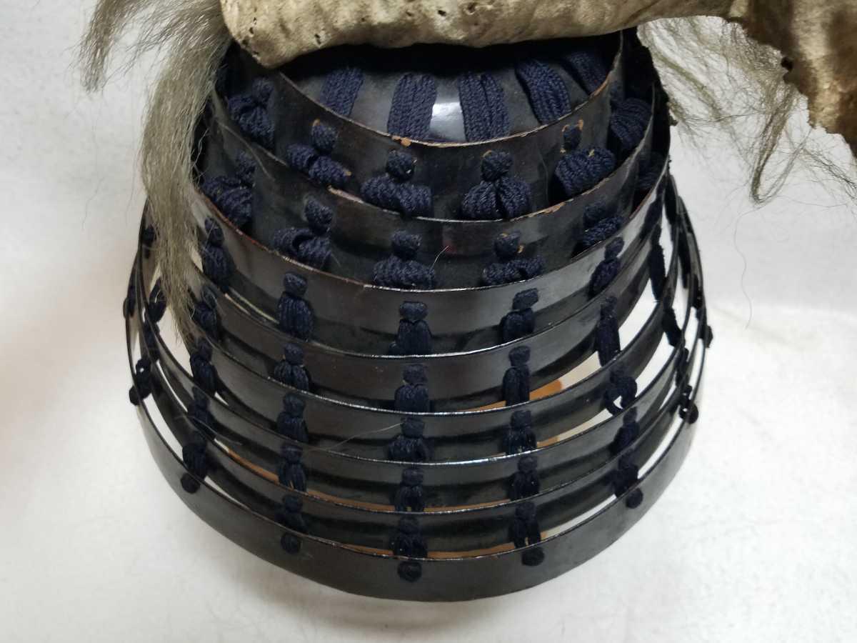 ■提灯兜■江戸時代■等身大■鎧兜、甲冑、武具、具足、鎧、兜■1218_画像8