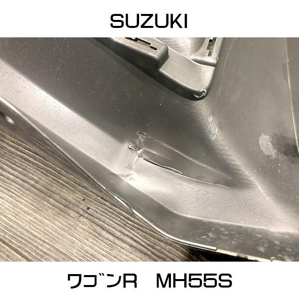 中古 令和元年式 スズキ ワゴンR スティングレー MH55S 純正 フロントバンパー_画像6