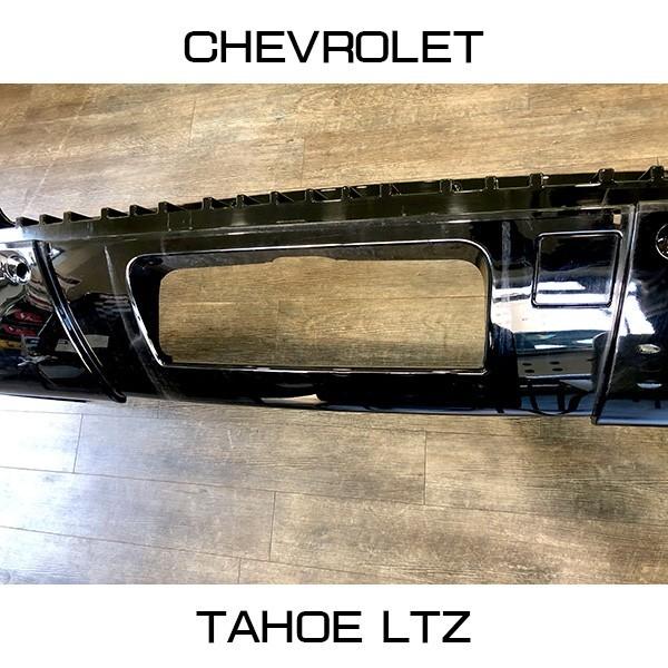 中古 2012y シボレータホLTZ 純正リアバンパー Chevrolet Tahoe アメ車_画像4