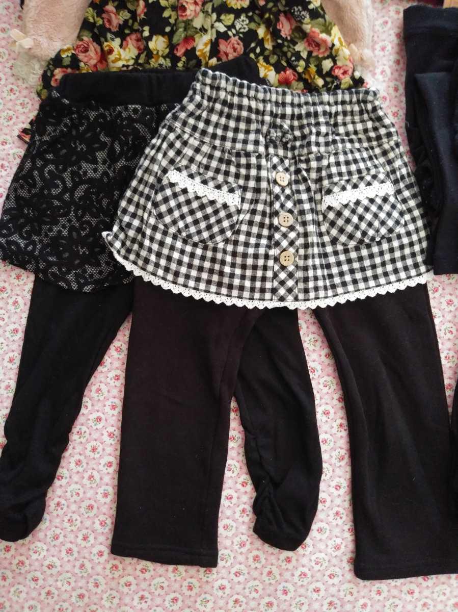 ☆女の子☆子供服☆100cm☆25点セット☆秋冬物☆長袖☆大量まとめ売り☆アウター☆トレーナー☆ズボン☆レギンス☆スパッツ☆キッズ服_画像6