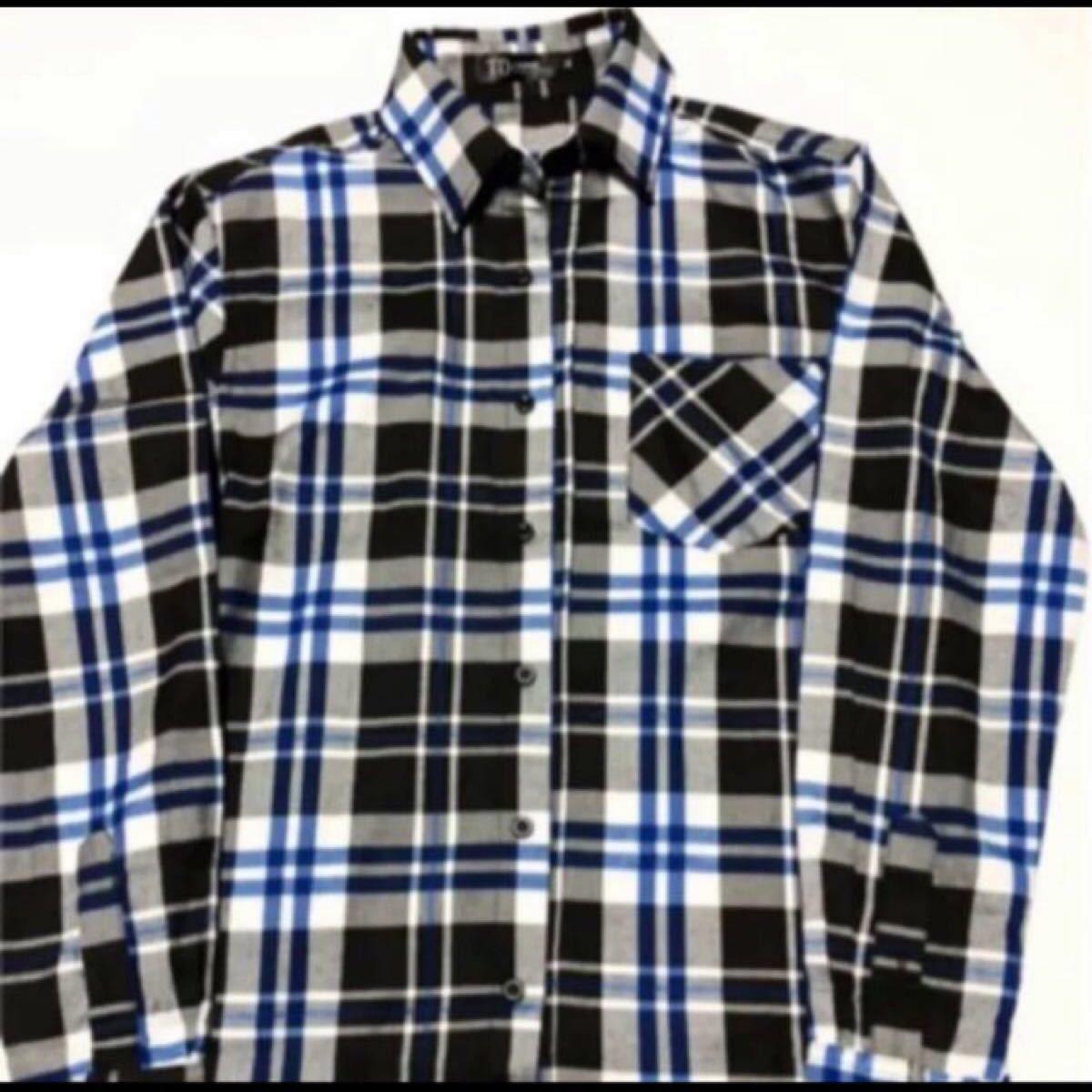 ネルシャツ チェックシャツ 長袖シャツ チェック柄 長袖 todollネルシャツ