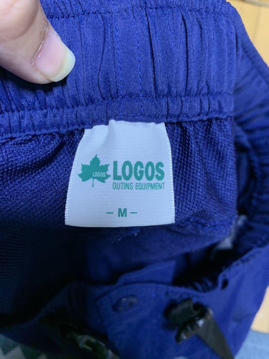 LOGOS(ロゴス)アウトドア系 ポリエステル素材ハーフパンツ
