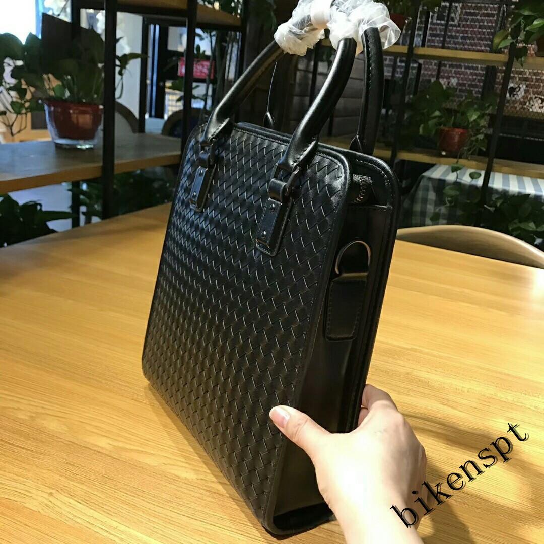 高級感 メンズバッグ ショルダーバッグ 本革 ハンドバッグ ビジネスバッグ トートバッグ 牛革 レザー 編込み 通勤 BB401_画像2