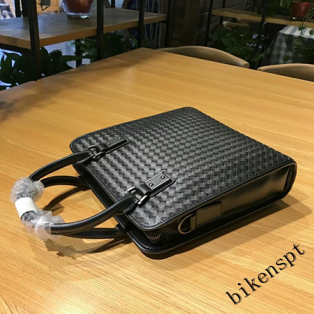 高級感 メンズバッグ ショルダーバッグ 本革 ハンドバッグ ビジネスバッグ トートバッグ 牛革 レザー 編込み 通勤 BB401_画像5