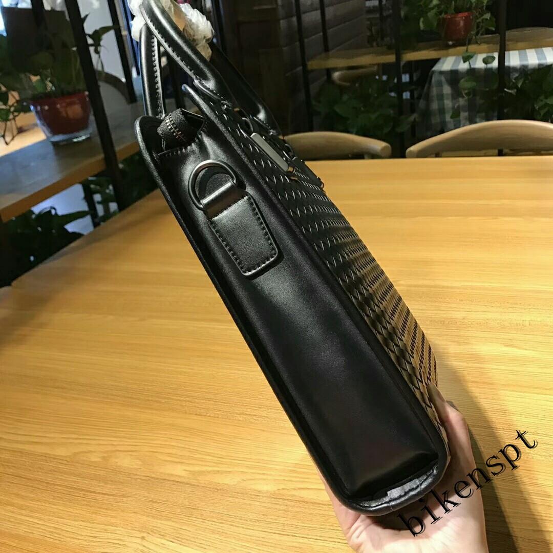 高級感 メンズバッグ ショルダーバッグ 本革 ハンドバッグ ビジネスバッグ トートバッグ 牛革 レザー 編込み 通勤 BB401_画像4