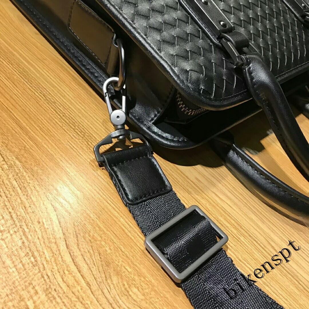 高級感 メンズバッグ ショルダーバッグ 本革 ハンドバッグ ビジネスバッグ トートバッグ 牛革 レザー 編込み 通勤 BB401_画像8