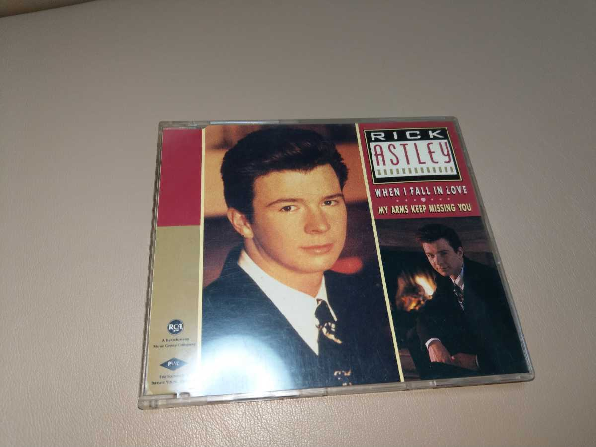 Rick Astley★When I Fall In Love 輸入盤 CD single PWL