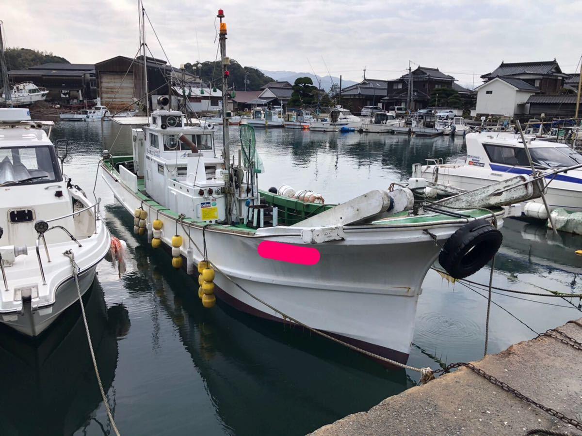 「山口県発  地場造船ディーゼルシャフト船」の画像2