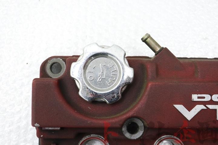 80106392 純正 エンジンヘッドカバー レッド インテグラ タイプR DC2 96SP トラスト企画_画像2