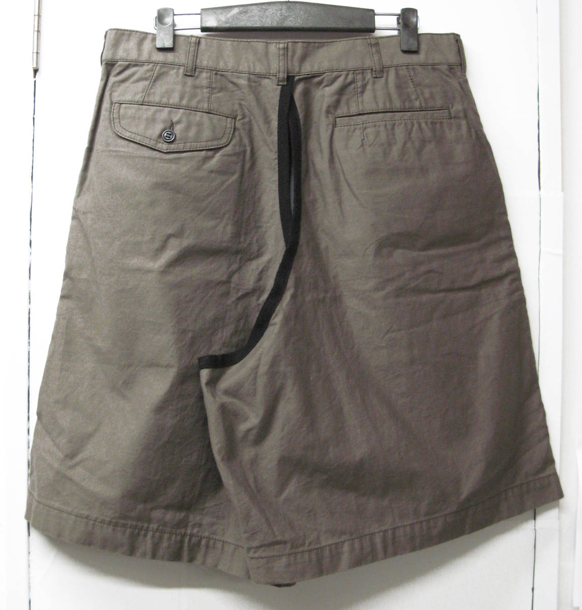 ギャルソン プリュス:カバー パンツ ( コムデギャルソン ハカマ 袴 カバーパンツ COMME des GARCONS HOMME PLUS cover pants_画像2
