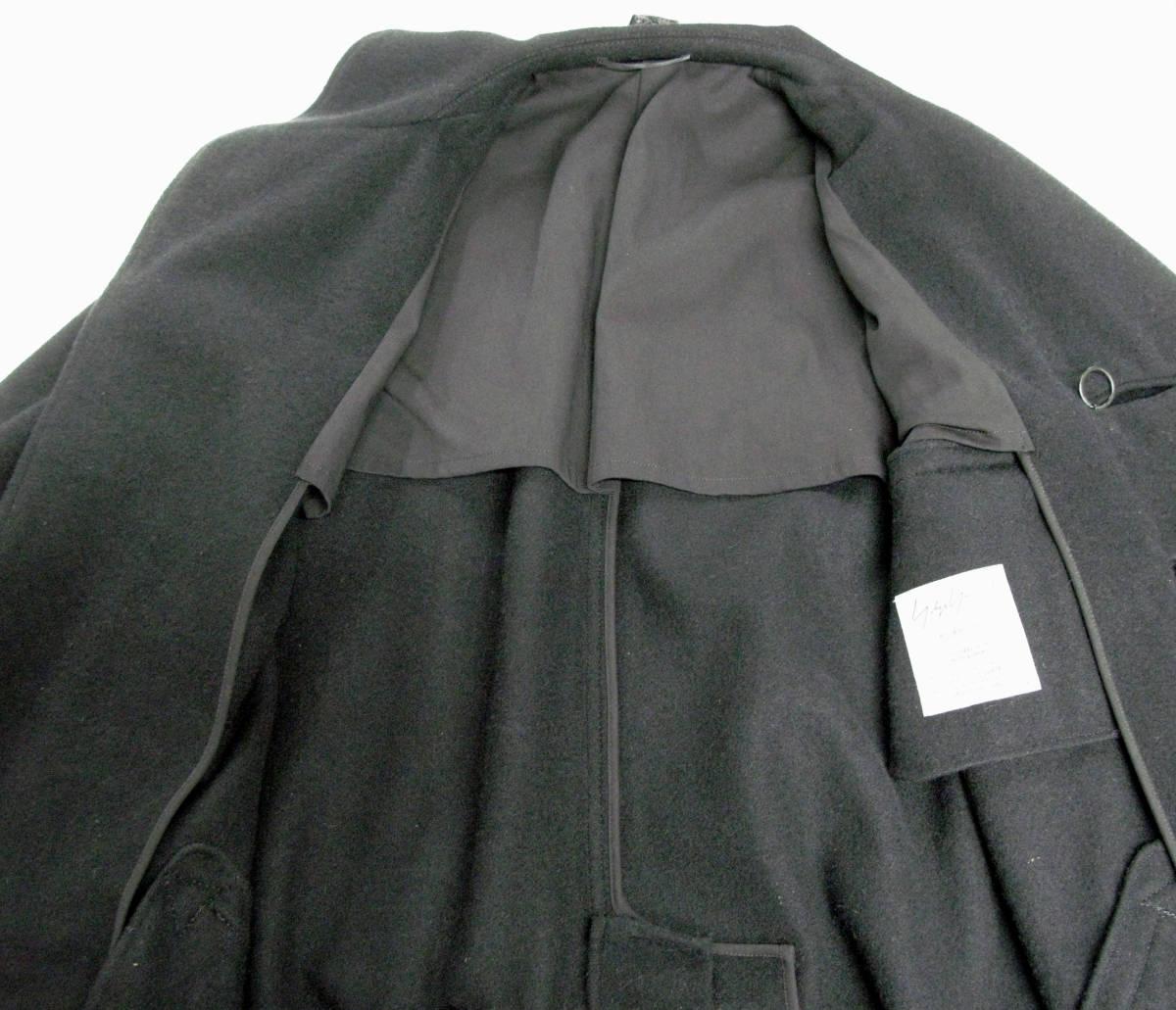 ヨウジヤマモト プールオム : 2019AW デカ釦 コート ( 真鍮ボタン 今期 デカボタン Yohji Yamamoto pour HOMME 2019-20AW coat_画像7