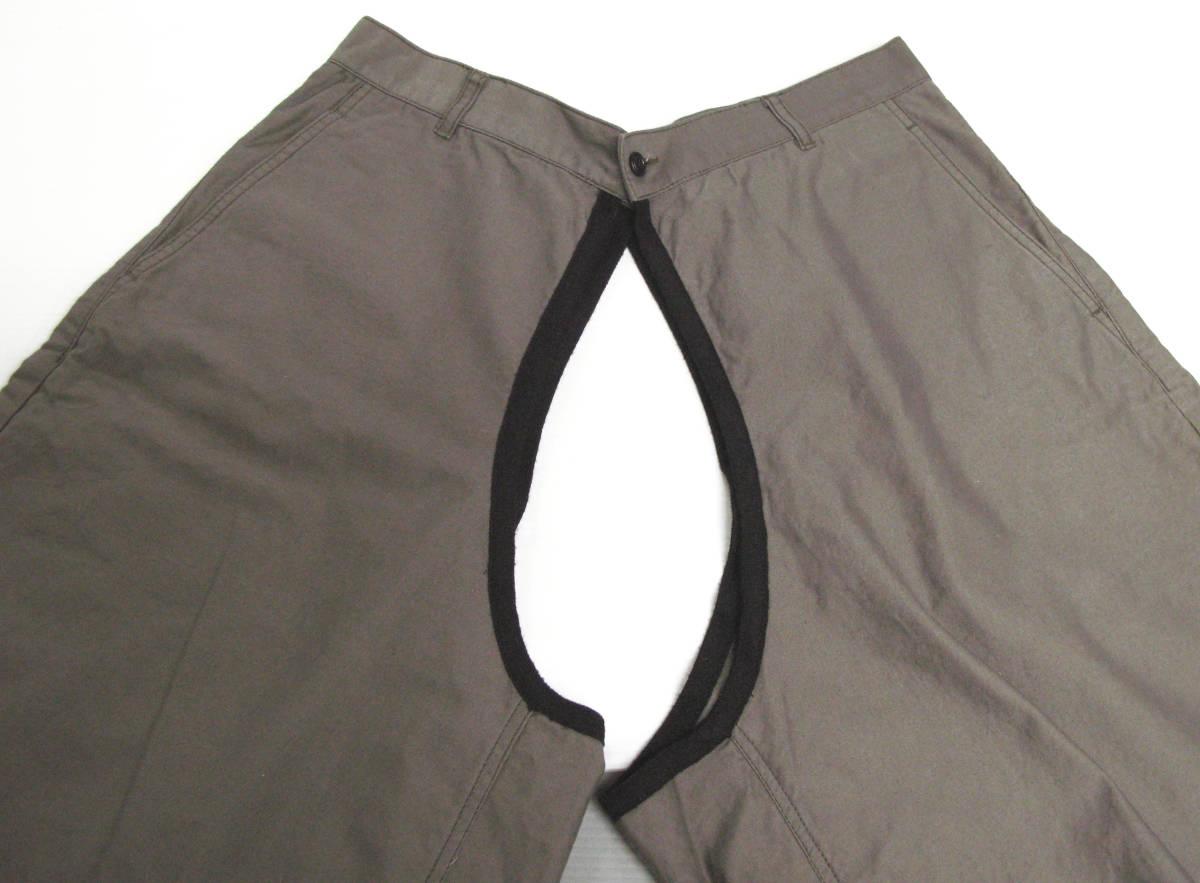 ギャルソン プリュス:カバー パンツ ( コムデギャルソン ハカマ 袴 カバーパンツ COMME des GARCONS HOMME PLUS cover pants_画像3